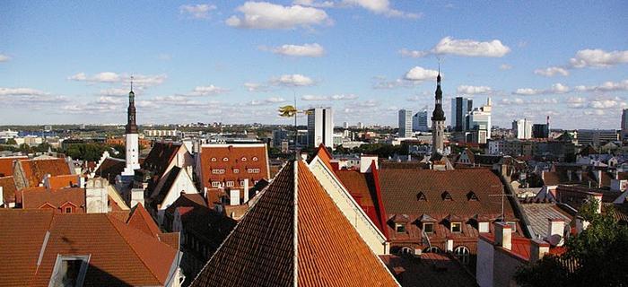 Tallinn z lotu ptaka
