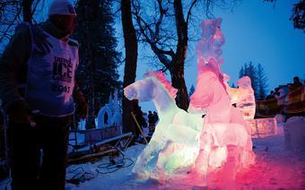 Galeria rzeź lodowych na Hrebienoku (Tatry Wysokie)