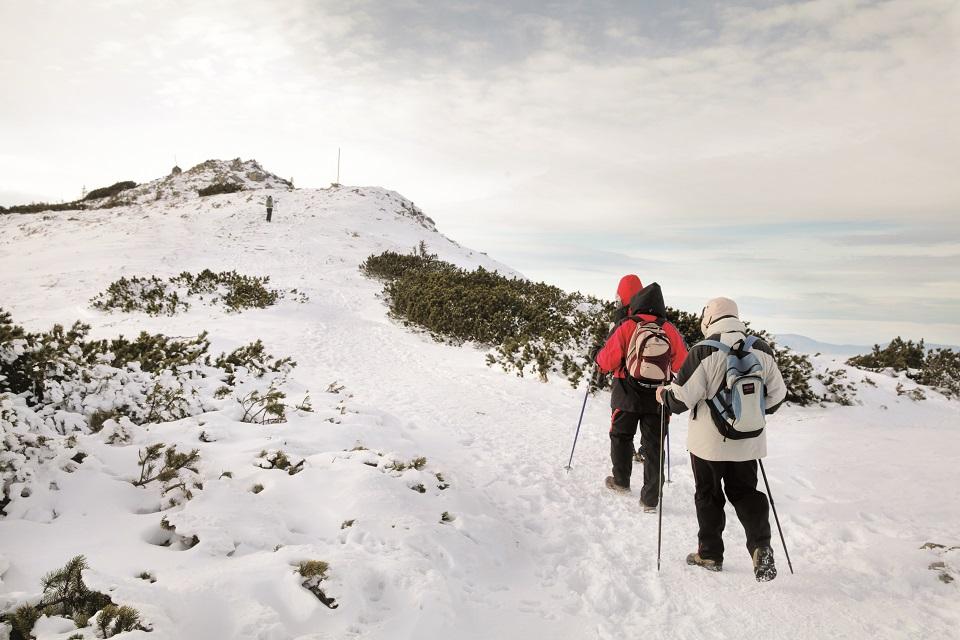 Wychodząc na Babią Górę, nawet w słoneczny dzień trzeba być przygotowanym na trudne warunki
